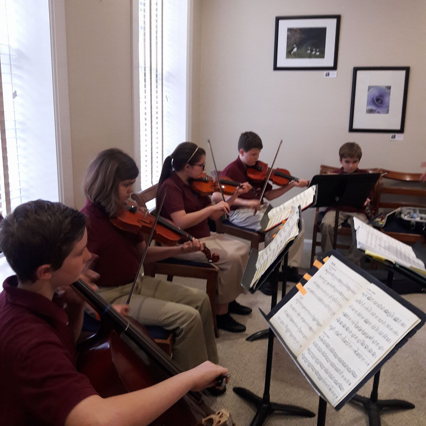 Heritage Area Strings Program